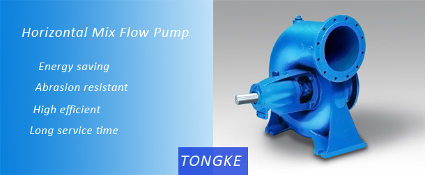 Mixed Flow Horizontal Surface Water Irrigation Pump