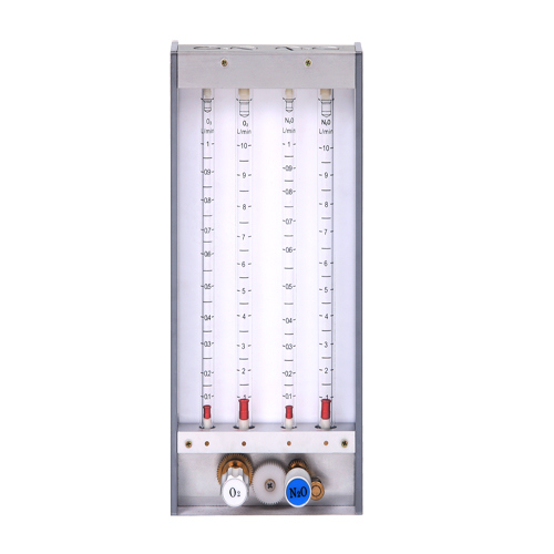 Flow Meter with Four Tubes