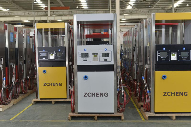 Zcheng Gas Station CNG Dispenser One Hose