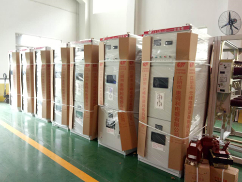 24kv Series Indoor Box-Type AC Sealed Switchgear-Hxgn-24