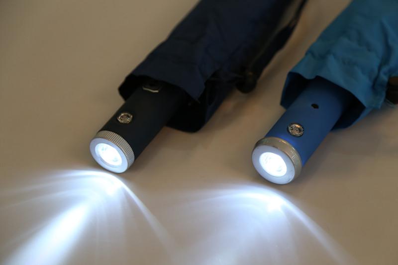 Auto Open&Close UV Protection LED Umbrella (JY-256)