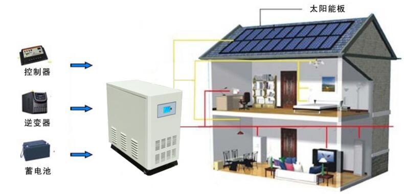 off Grid Solar Inverter Solar Power System 600W