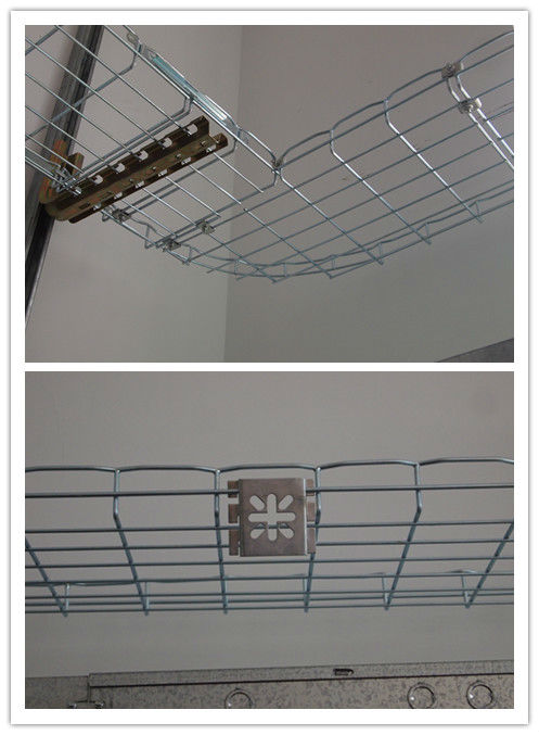 Galvanized Steel Wire Mesh Cable Tray Support with Cantilever ...