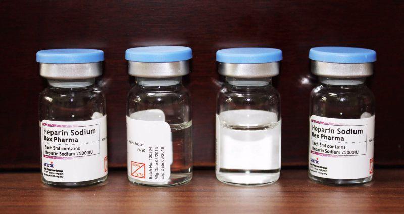 Heparin Sodium Injection 25000 Iu & Actd/Ctd Dossier of Heparin Sodium