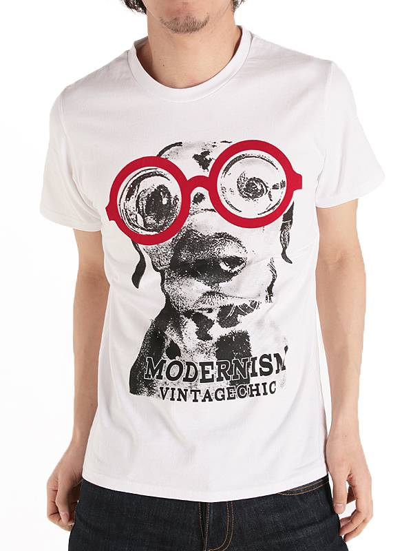 Funny Dog Screen printing Summer Custom Cotton Fashion Summer Wholesale Men T Shirt