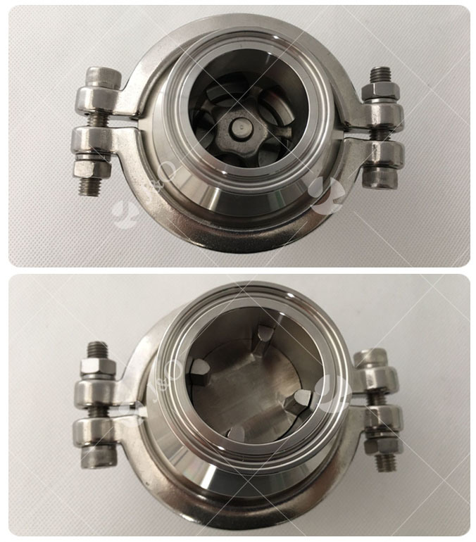 Sanitary Stainless Steel Clamp End Check Valve No Return Valve