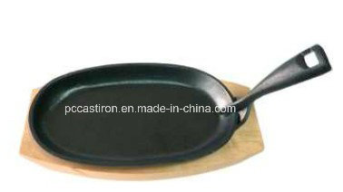 Cast Iron Mini Frypan with Preseasoned Coating