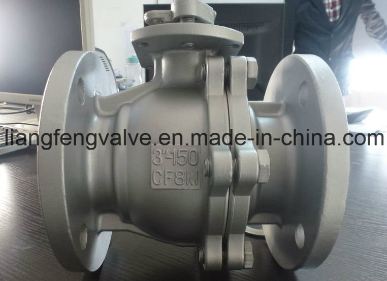 2PC Ball Valve with Stainless Steel RF