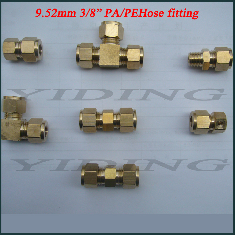 Fog Misting Cooling Brass Elbow Fitting (TH-B3004)