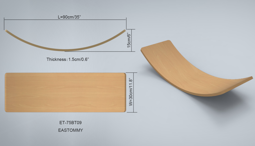 GOOD balance board wood