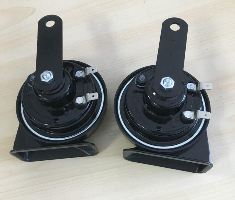 12V Car Accessories Snail Horn Electric Car Horn 115dB