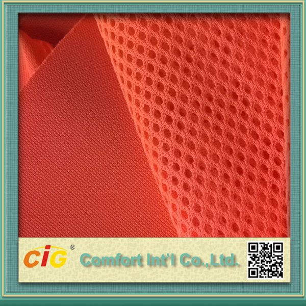 Orange Fabric Mesh Fabric for Safety Vest