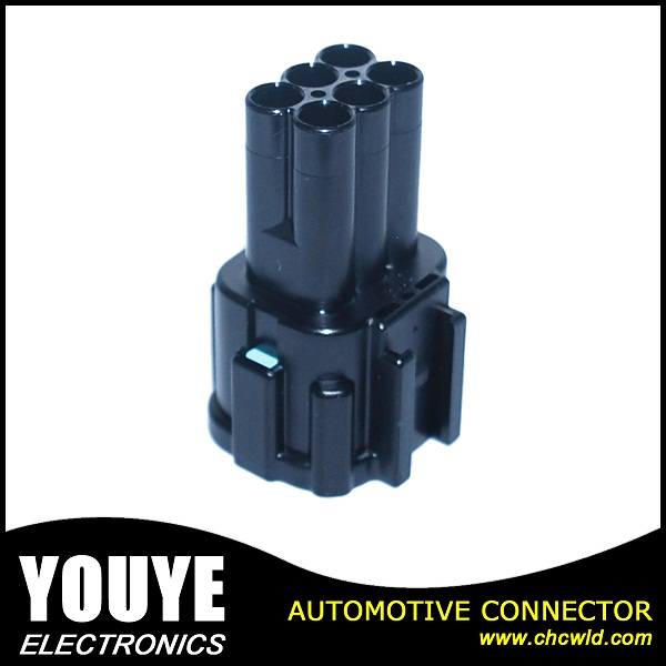 6 Pin Sumitomo Plastic Electrical Connector for Autos