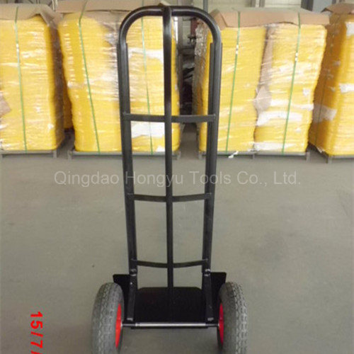 Black Color Painted Metal Hand Truck/Hand Trolley