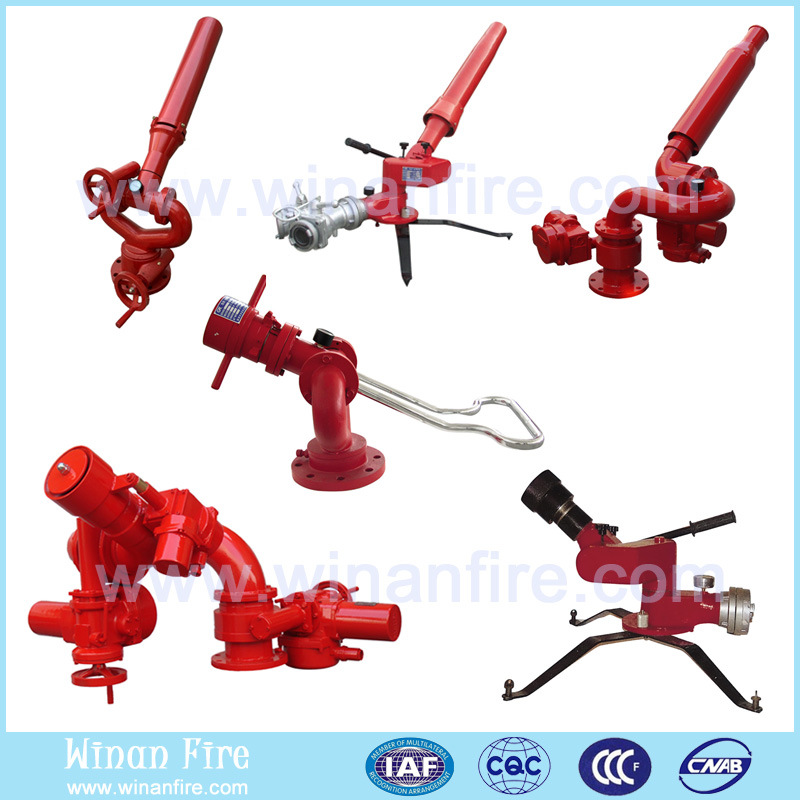 High Quality Worm Gear Drive Foam and Water Fire Monitor