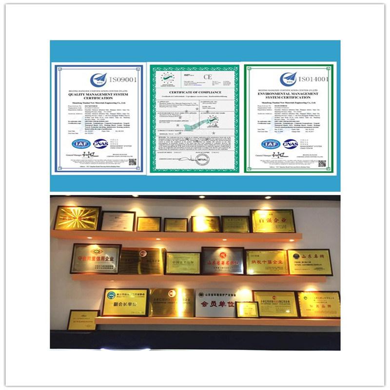 Virgin Material HDPE Polyethylene Geomembrane for Aquaculture, Landfill, Fish Pond Liner