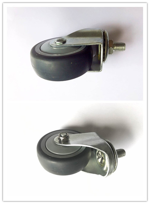 3 Inch TPR Wave Disc Caster