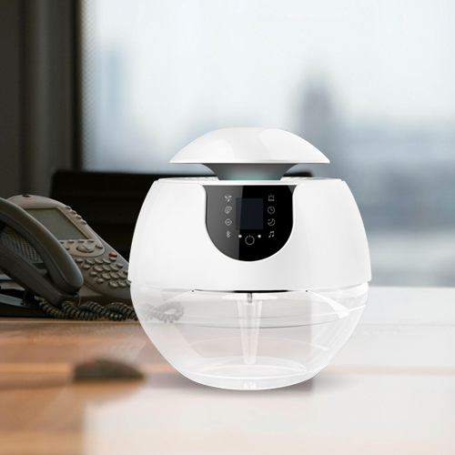 Household LED Lighted Bluetooth Water Air Purifier for Home