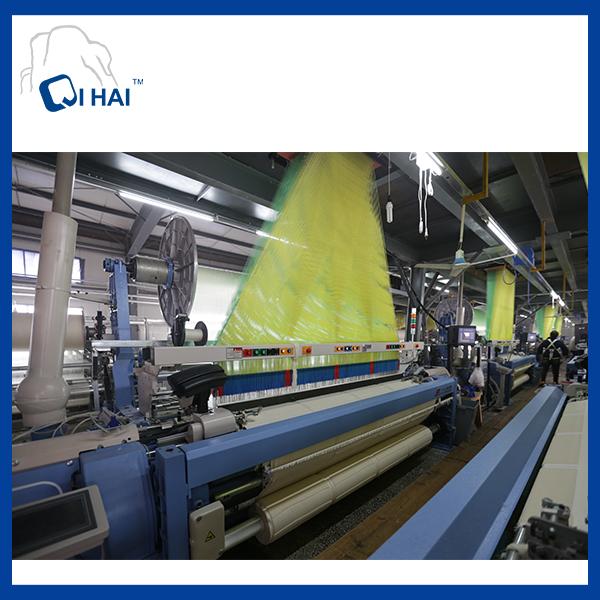 100% Solid Yarn Dyed Bath Towel (QHD887112)