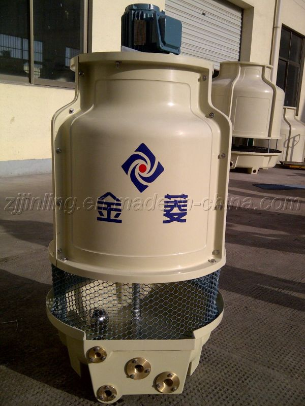 Round Cooling Tower FRP Counter Flow Water Tower