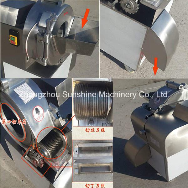 Industrial Vegetable Cutter Fruit and Vegetable Cutting Machine