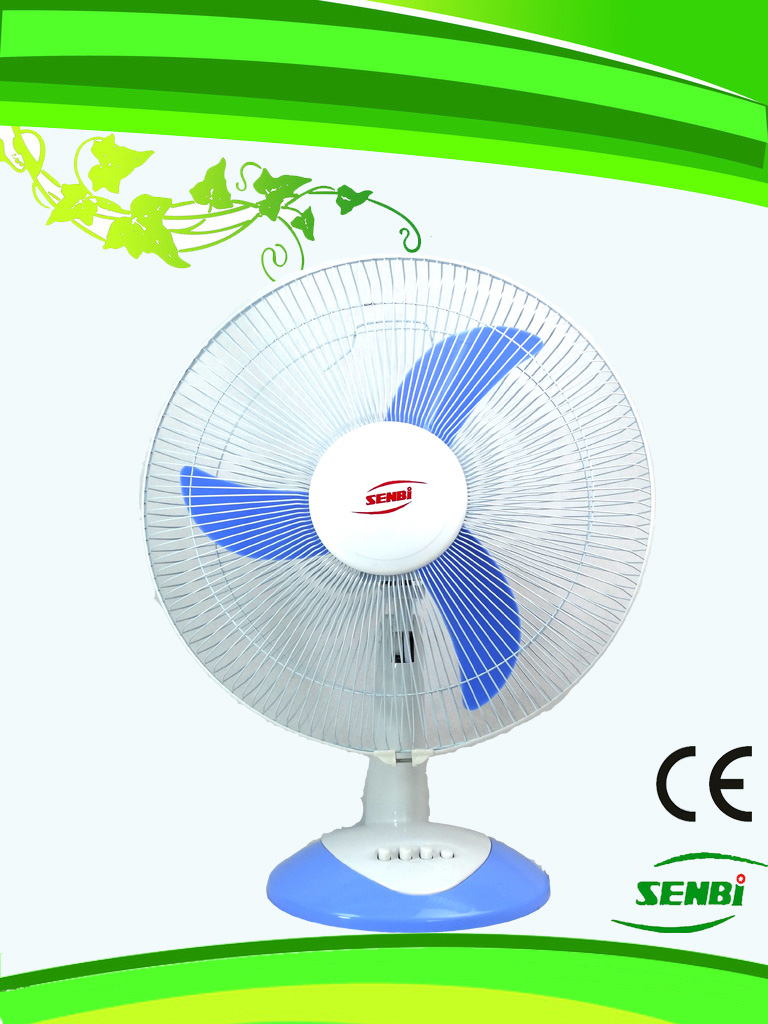 16 Inches 12V DC Table Fan Desk Fan Solar Fan (FT-40AC-B)