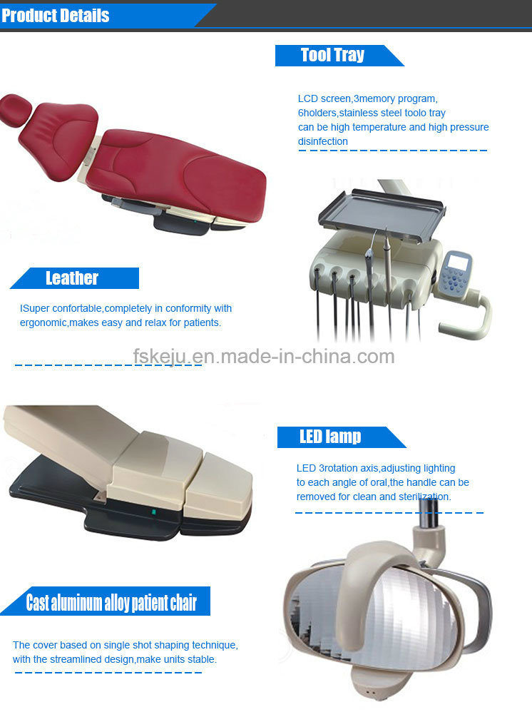 Hot Selling Fashion and High Quality Dental Chair Dental Equipment