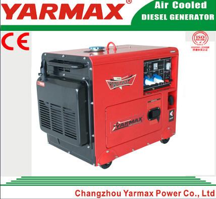 5kw Electric Starting Silent Power Diesel Generator