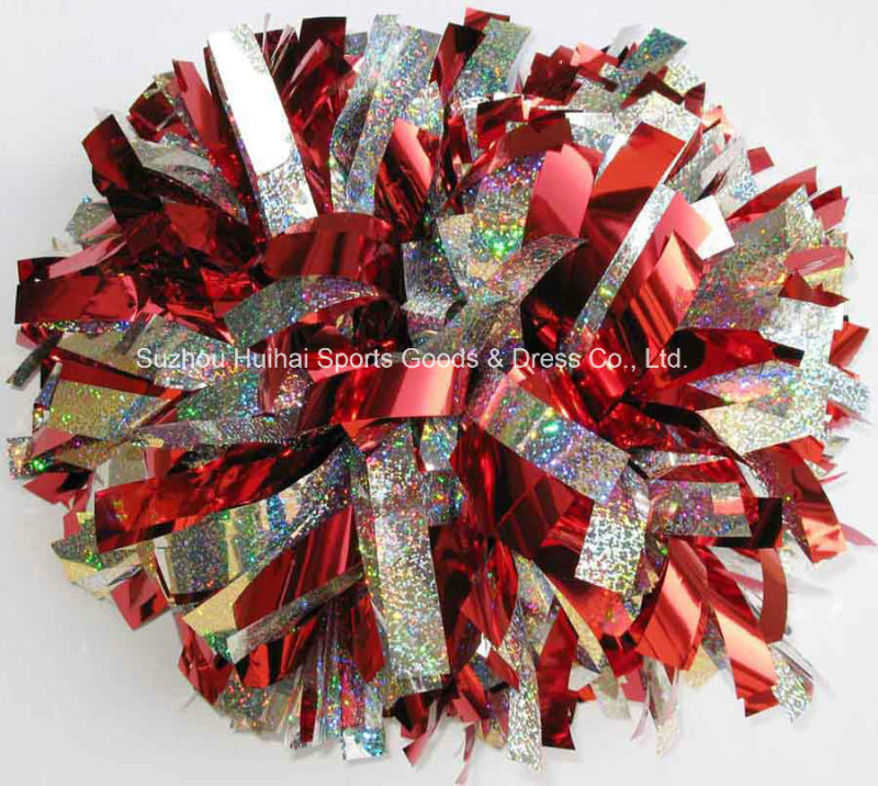Metallic 6 Inches POM POM