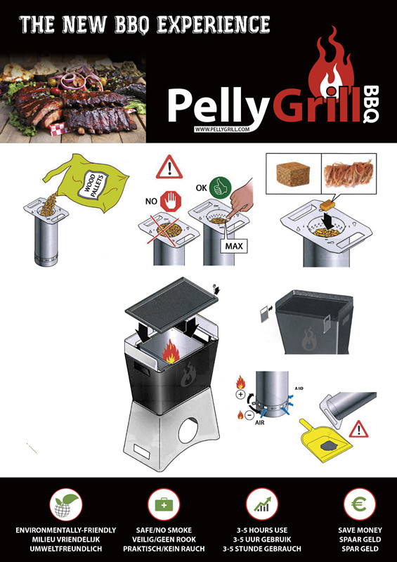 New BBQ with Pellet Burner