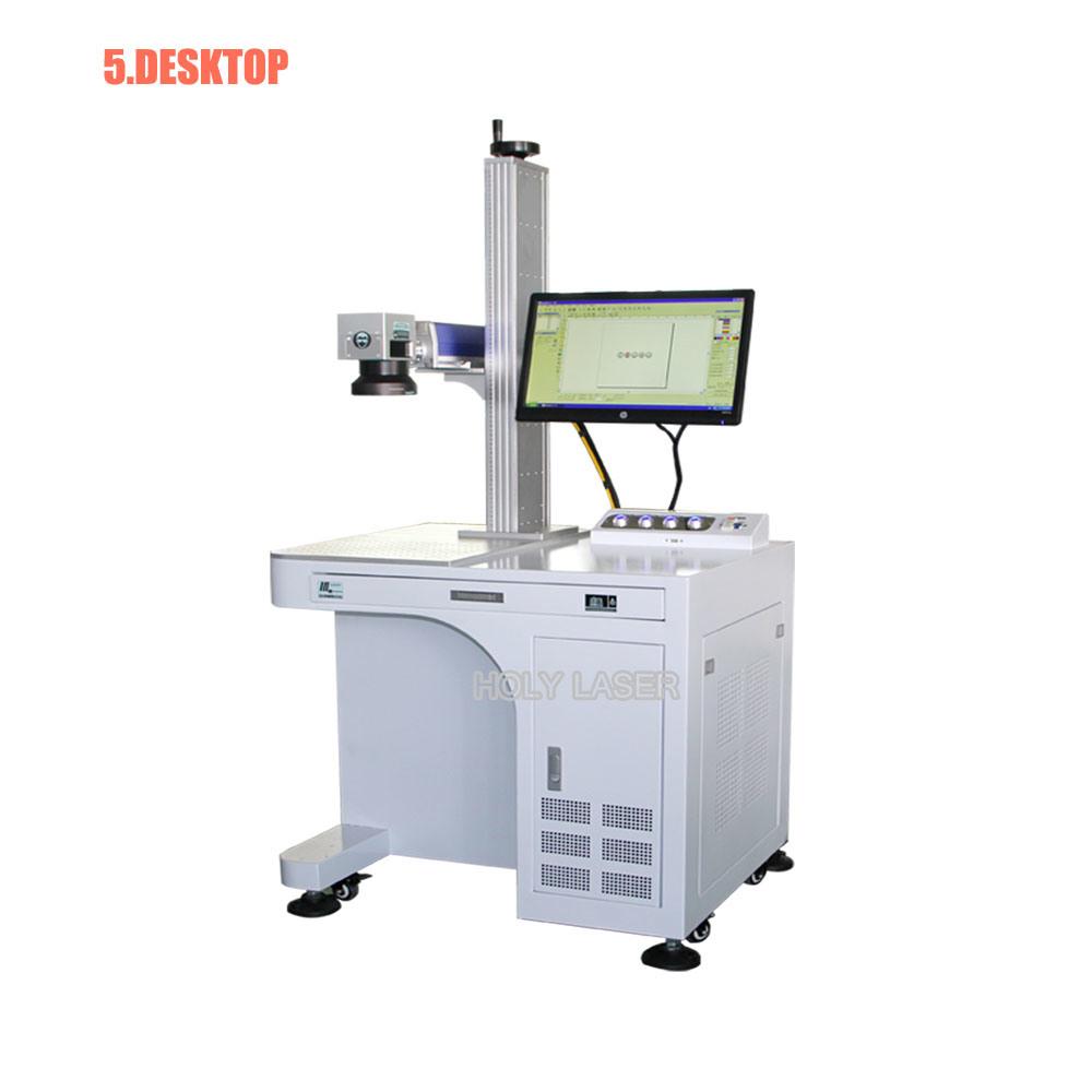 YAG Laser, Metal Fiber Laser Marking Machine for Blade