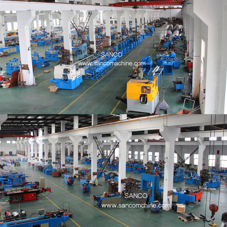 Automatic Copper Pipe Aluminum Pipe Cutting and End Forming Machine