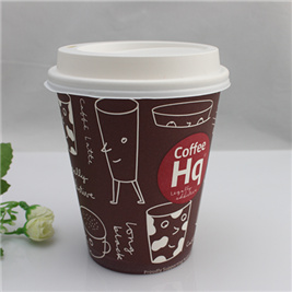 Disposable Paper Tea Drink Cups