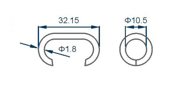 C3 C-Ring Plier for Mattress Manufacturing