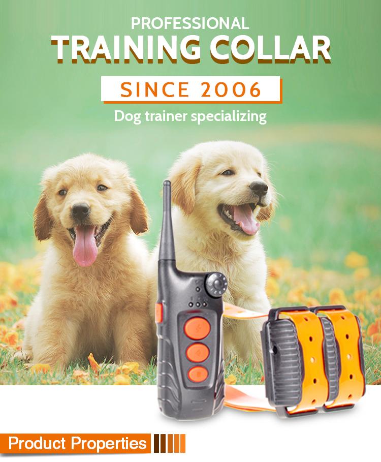 AT-918C Remote Dog Pet Safe Training Collar
