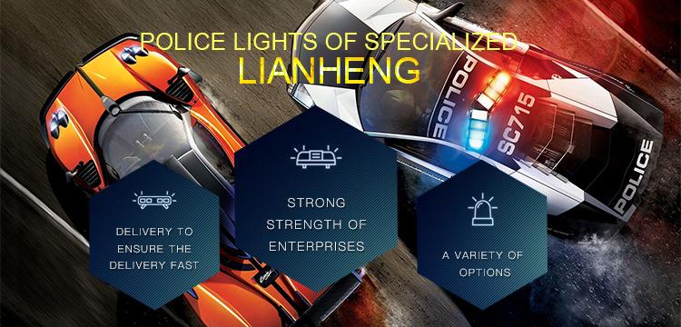 Six Lamp LED Traffic Advisor Dash Light Deck Light Car Light Bar (LTDG9117)