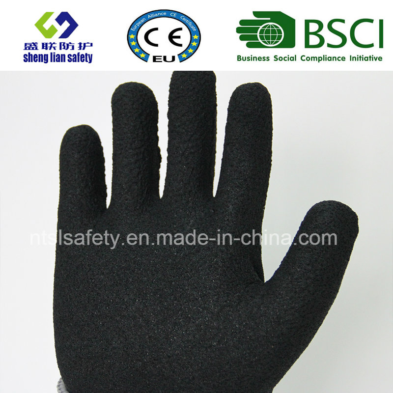 Double Liner Coated Winter Work Glove