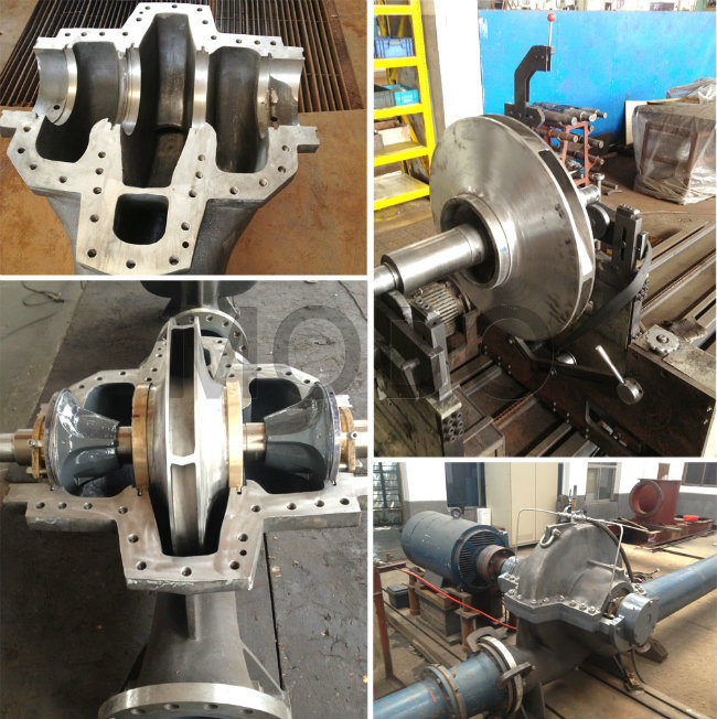 High Capacity Double Suction Water Pump