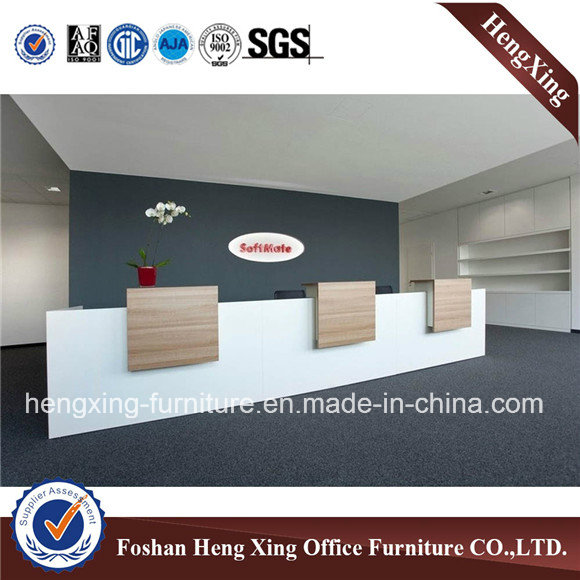 China Manufacturer Straight Shape Reception Desk (HX-5N466)