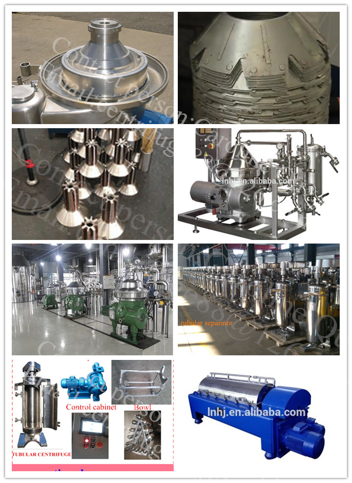 China Disc Stack Centrifuge for Avocado Oil Production