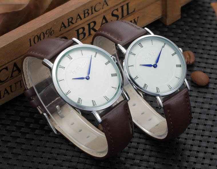 Yxl-565 Quartz Stainless Steel Watches Men Leather Strap Luxury Man Wrist Watch
