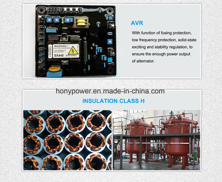 Honypower 50kw AC Brushless Alternator for Diesel Genset