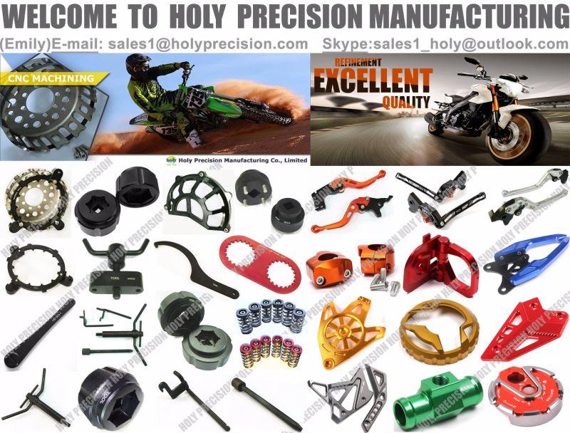 Ducati Motorcycle Tool Steering Stem Nut with CNC Aluminum Machining