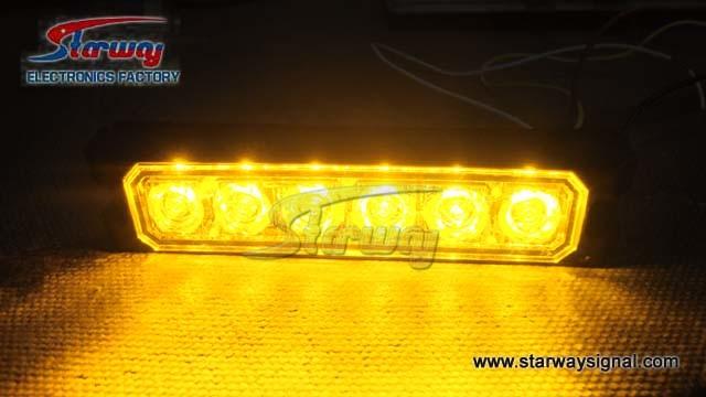 Warning Surface Mount Car LED Strobe Light / LED Grille Lightheads (LED216C)