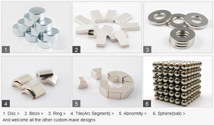 Rare Earth Neodymium Iron Boron Permanent Strong Industrial Magnet