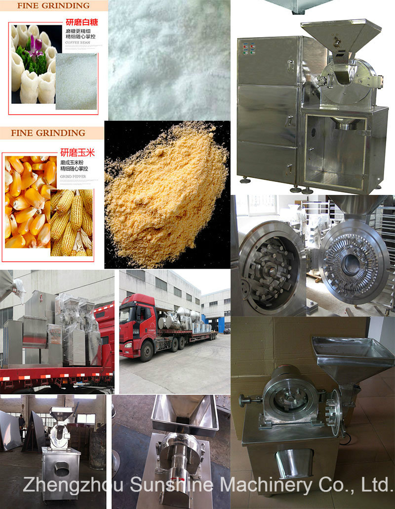 Fl-150 Stainless Steel Green Beans Grinding Machine Millet Grinder