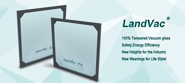 Landvac American Hot Sale Light Weight Vacuum Glass Unit for Prefabricated House