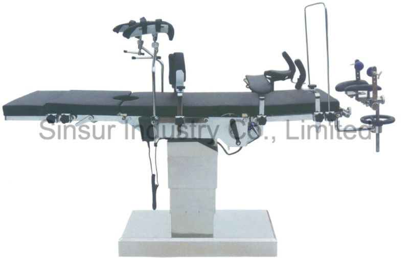 C-Arm Compatible Operating Surgical Equipment Manual Cost Operating Table