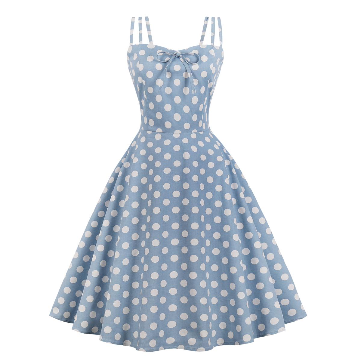 Retro 50s Polka Dot Dress