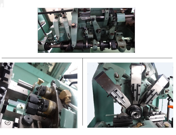 Type 15 20 Shanghai Supplier Turning & Milling Center Cam Auto Lathe